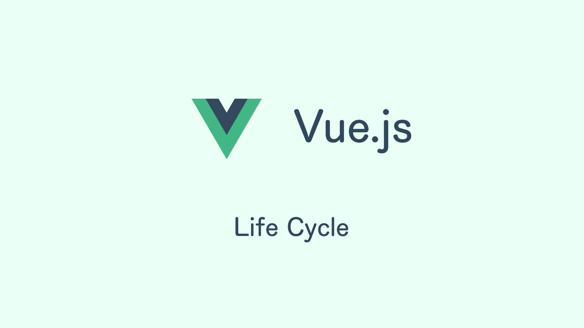 vuejs lifecycle